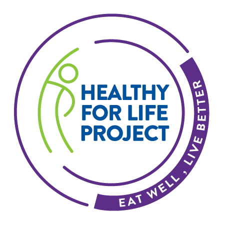 Healthy for Life Project Eat Well Logo