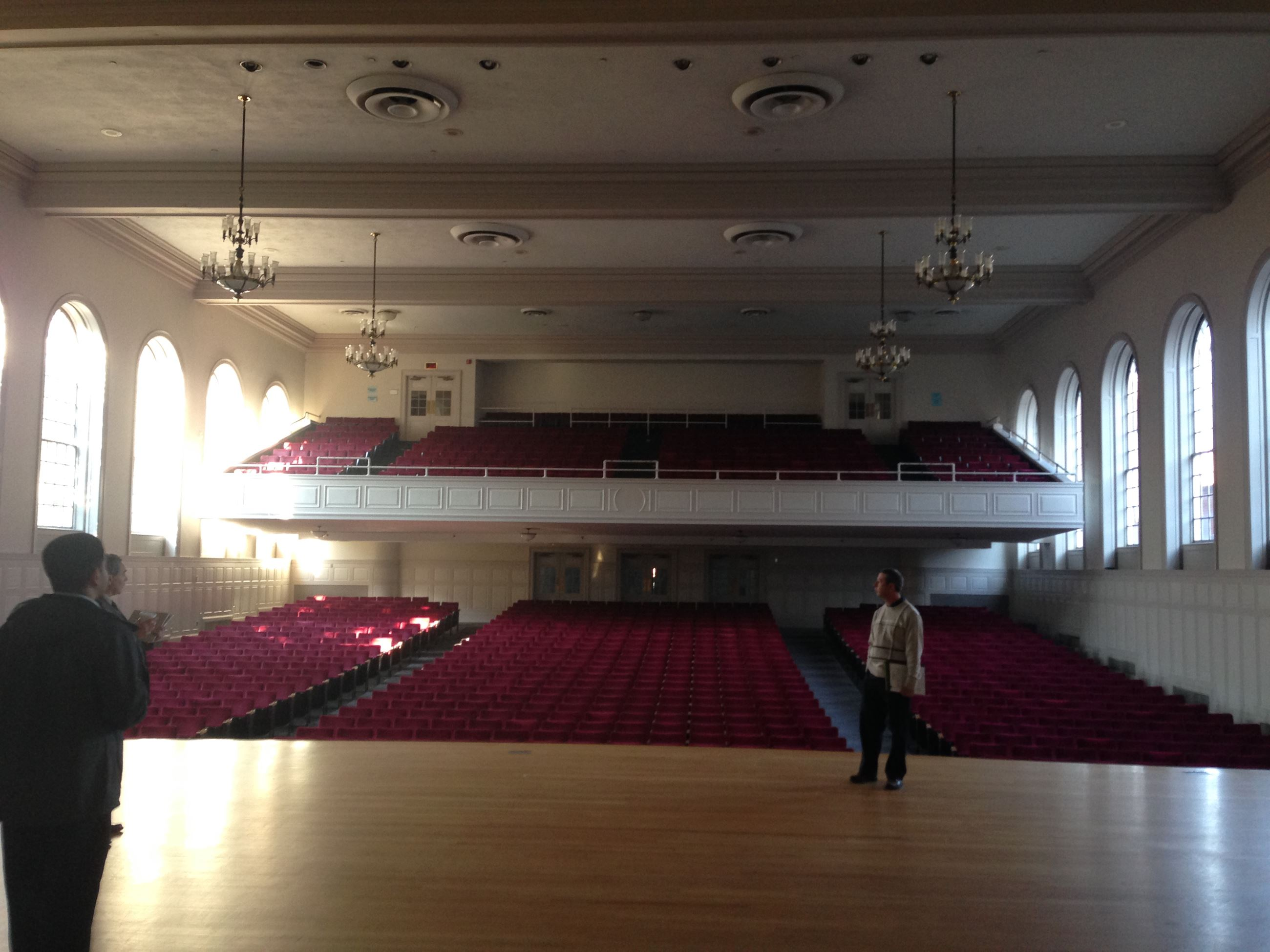 Norwalk City Hall - Concert Hall