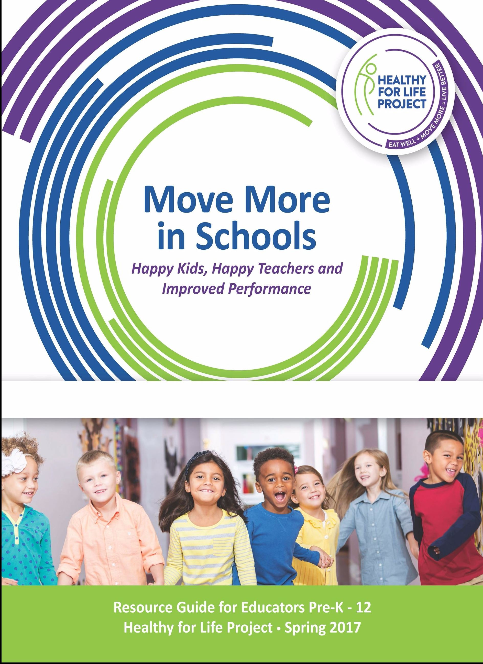 Move More in Schools Toolkit Cover