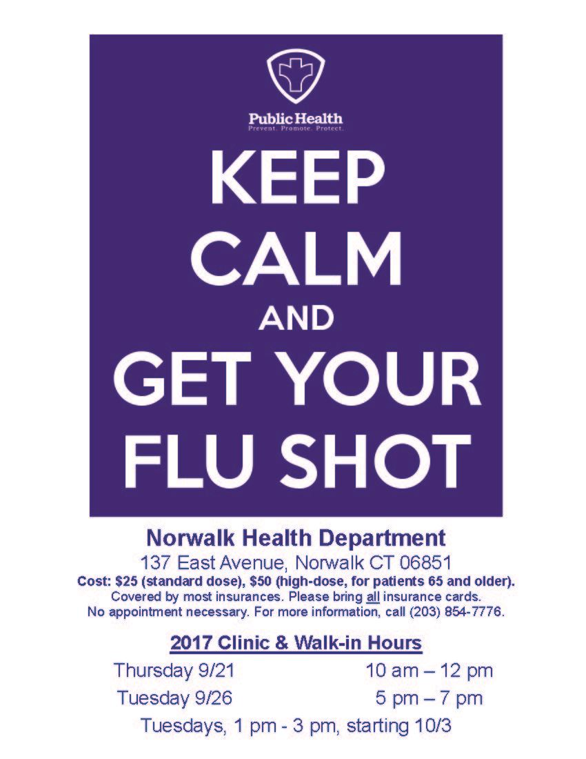 2017 Flu Clinic Flyer