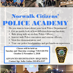 Citizens' Police Academy 2018