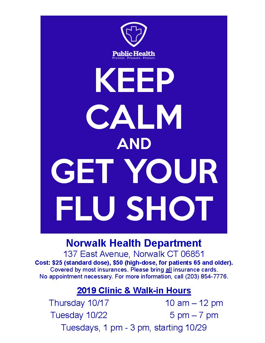 Flu Clinic Information 2019