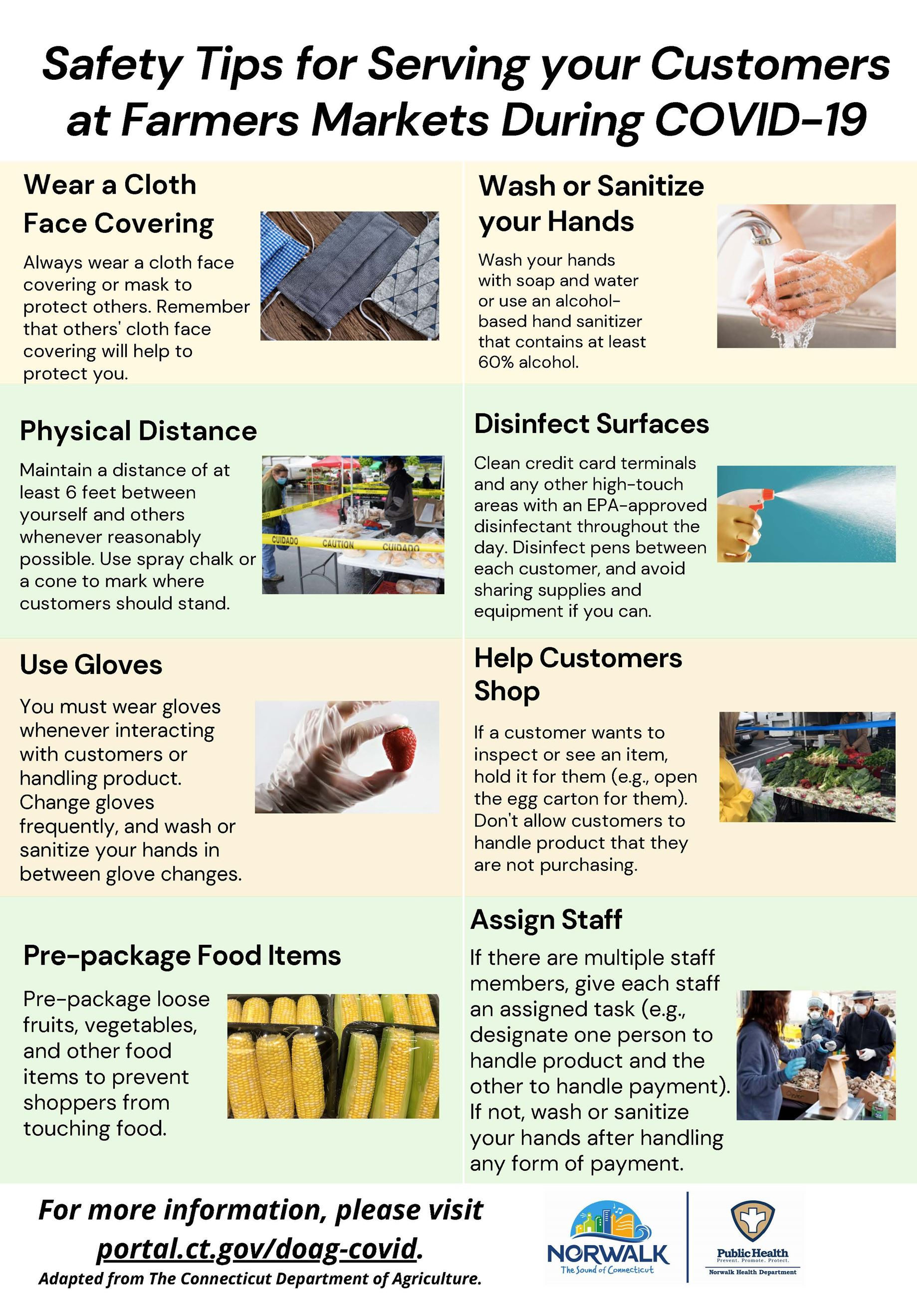 Safety Tips for Serving Customers During COVID-19_English