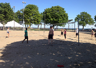volleyball at calf pasture