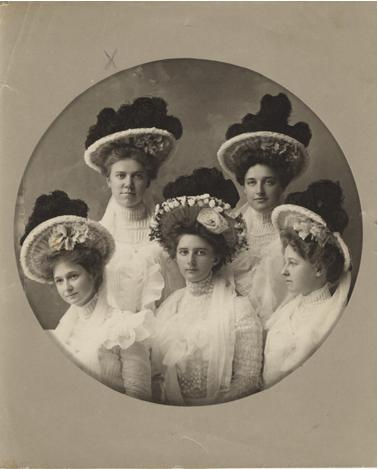 Portrait of five women