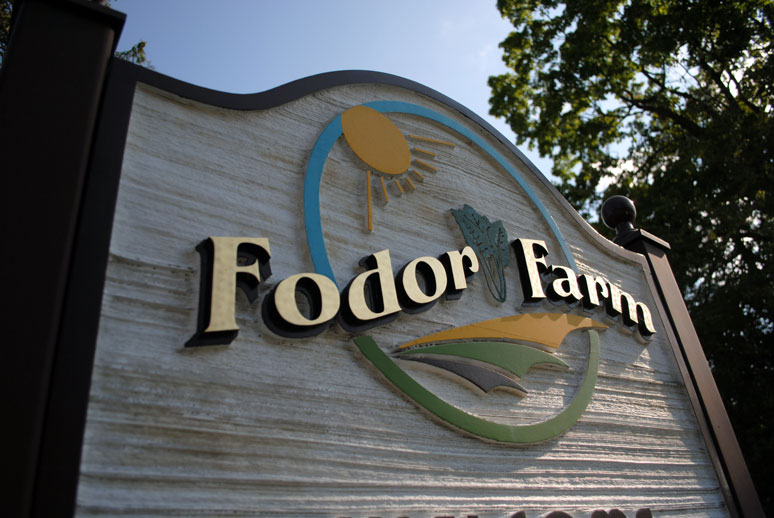 Fodor entrance sign