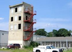 Fire Department training tower